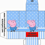 Caixa Kit Ressaca George Pig (Peppa Pig):