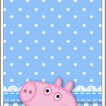 Menu George Pig (Peppa Pig):