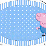 Placa George Pig (Peppa Pig):