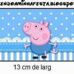 Rótulo Copinho de Brigadeiro George Pig (Peppa Pig):