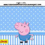 Rótulo Batom Garoto George Pig (Peppa Pig):