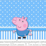 Rótulo Passatempo George Pig (Peppa Pig):