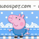 Rótulo Lápis George Pig (Peppa Pig):