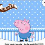 Rótulo Creminho Nucita  George Pig (Peppa Pig):