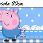 Rótulo Pote Papinha  George Pig (Peppa Pig):