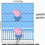 Rótulo Pastilha Garoto  George Pig (Peppa Pig):