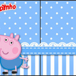 Rótulo Toddynho  George Pig (Peppa Pig):