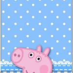 Tag Agradecimento  George Pig (Peppa Pig):