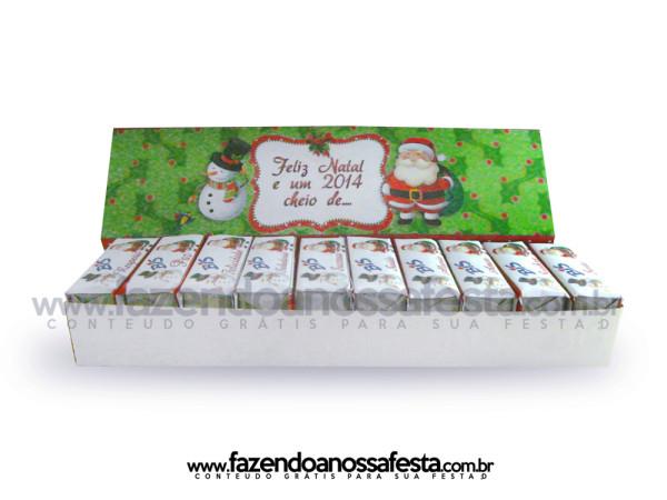 Caixa Bis Personalizada para o Natal!