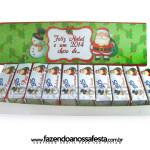 Molde Caixa de Bis Personalizada para o Natal!