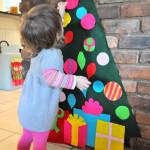 Árvore de Feltro para o Natal!