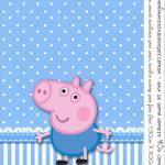Rótulo Bala de Goma Gomets George Pig (Peppa Pig):