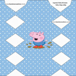 Caixa de Balas George Pig (Peppa Pig):