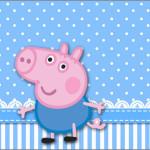 Caixa Bom Bom George Pig (Peppa Pig):