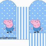 Caixa Coração George Pig (Peppa Pig):