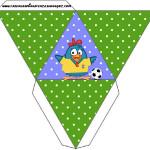 Caixa Pirâmide Galinha Pintadinha na Copa: