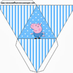 Caixa Pirâmide George Pig (Peppa Pig):