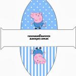 Caixa Vestido George Pig (Peppa Pig):