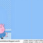 Convite, Cardápio ou Cronograma em ZGeorge Pig (Peppa Pig):