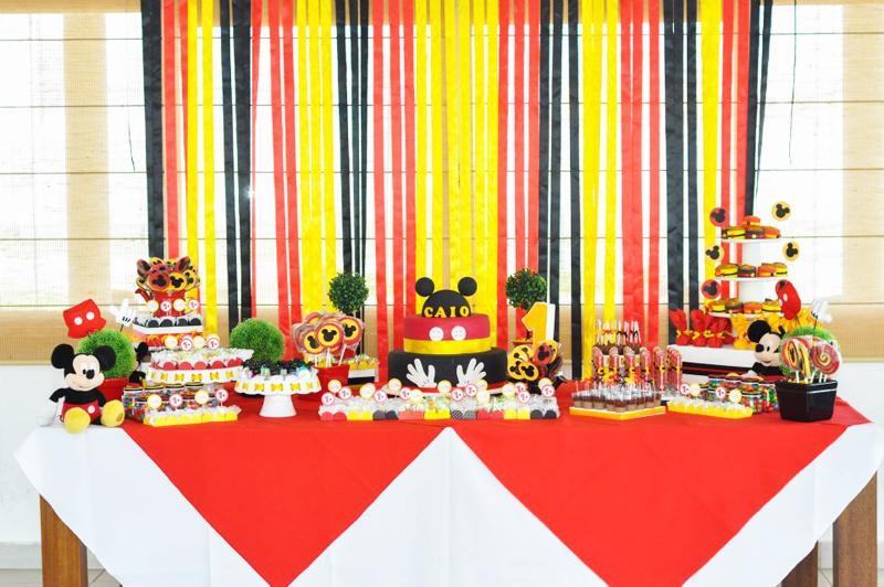 Ideias Festa Mickey Mouse  Fazendo a Nossa Festa