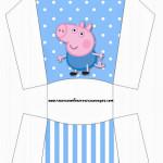 Envelope Fritas George Pig (Peppa Pig):