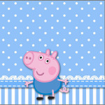 Mini Confeti George Pig (Peppa Pig):