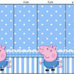 Rótulo Nescauzinho George Pig (Peppa Pig):