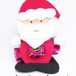 Molde Papai Noel com Bombom!