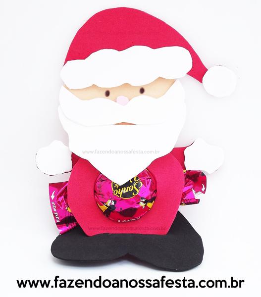 Papai Noel com Bombom: