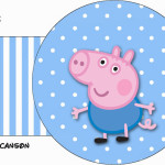 Porta Guardanapos George Pig (Peppa Pig):