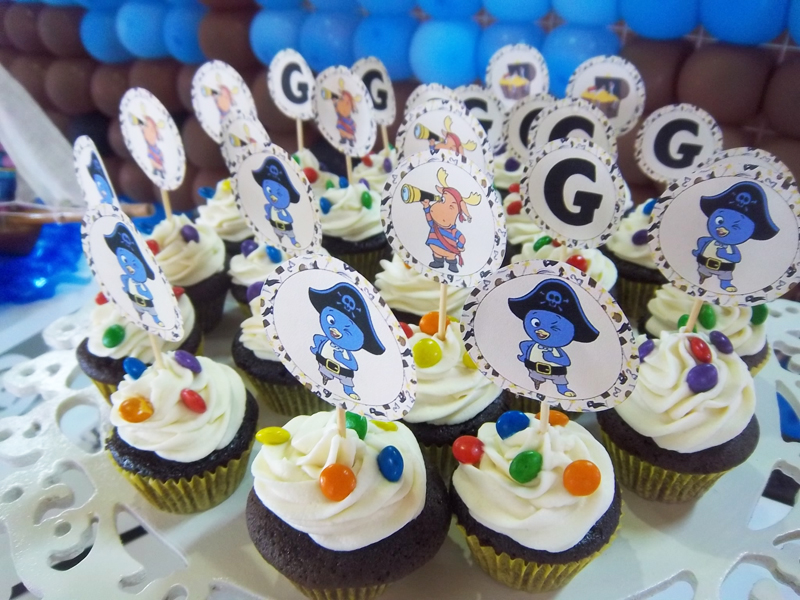Cupcakes Backyardigans Pirata: