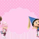 Meu Malvado Favorito Meninas – Kit Completo com molduras para convites, rótulos para guloseimas, lembrancinhas e imagens!