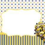 Minions (Meu Malvado Favorito 2) – Kit Completo com molduras para convites, rótulos para guloseimas, lembrancinhas e imagens!