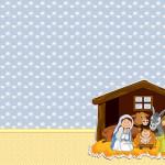 Nascimento Jesus – Kit Completo com molduras para convites, rótulos para guloseimas, lembrancinhas e imagens!