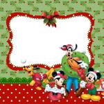 Natal Mickey e Minnie – Kit Completo com molduras para convites, rótulos para guloseimas, lembrancinhas e imagens!