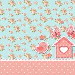 Jardim Encantado Vintage Floral – Kit Completo com molduras para convites, rótulos para guloseimas, lembrancinhas e imagens!