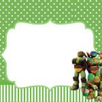 Tartarugas Ninjas – Kit Completo com molduras para convites, rótulos para guloseimas, lembrancinhas e imagens!
