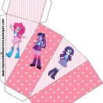 Caixa Fatia Equestria Girls (My Little Pony):