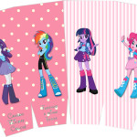 Caixa Pipoca Equestria Girls (My Little Pony):