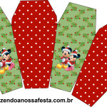 Caixa China in Box Natal Mickey e Minnie: