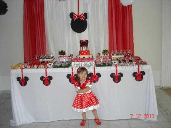 Festa tema Minnie: