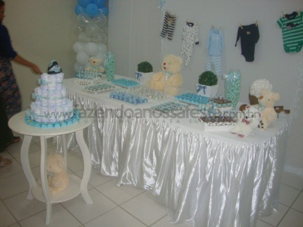 Festa tema Chá de Bebe Meninos: