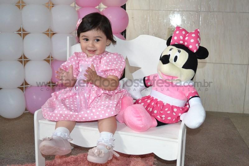 Festa tema Minnie Baby: