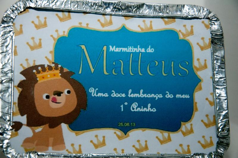 Marmitinhas Festa Rei Leão:
