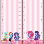 Marcador de Páginas  Equestria Girls (My Little Pony):