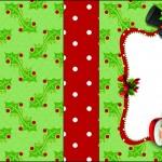 Molde Caixa Baton Papai Noel - Molde limpo