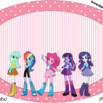 Placa  Equestria Girls (My Little Pony):