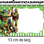 Copinho de Brigadeiro Tartarugas Ninjas: