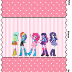 Bala Personalizada Equestria Girls (My Little Pony):