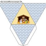 Caixa Pirâmide Nascimento de Jesus: